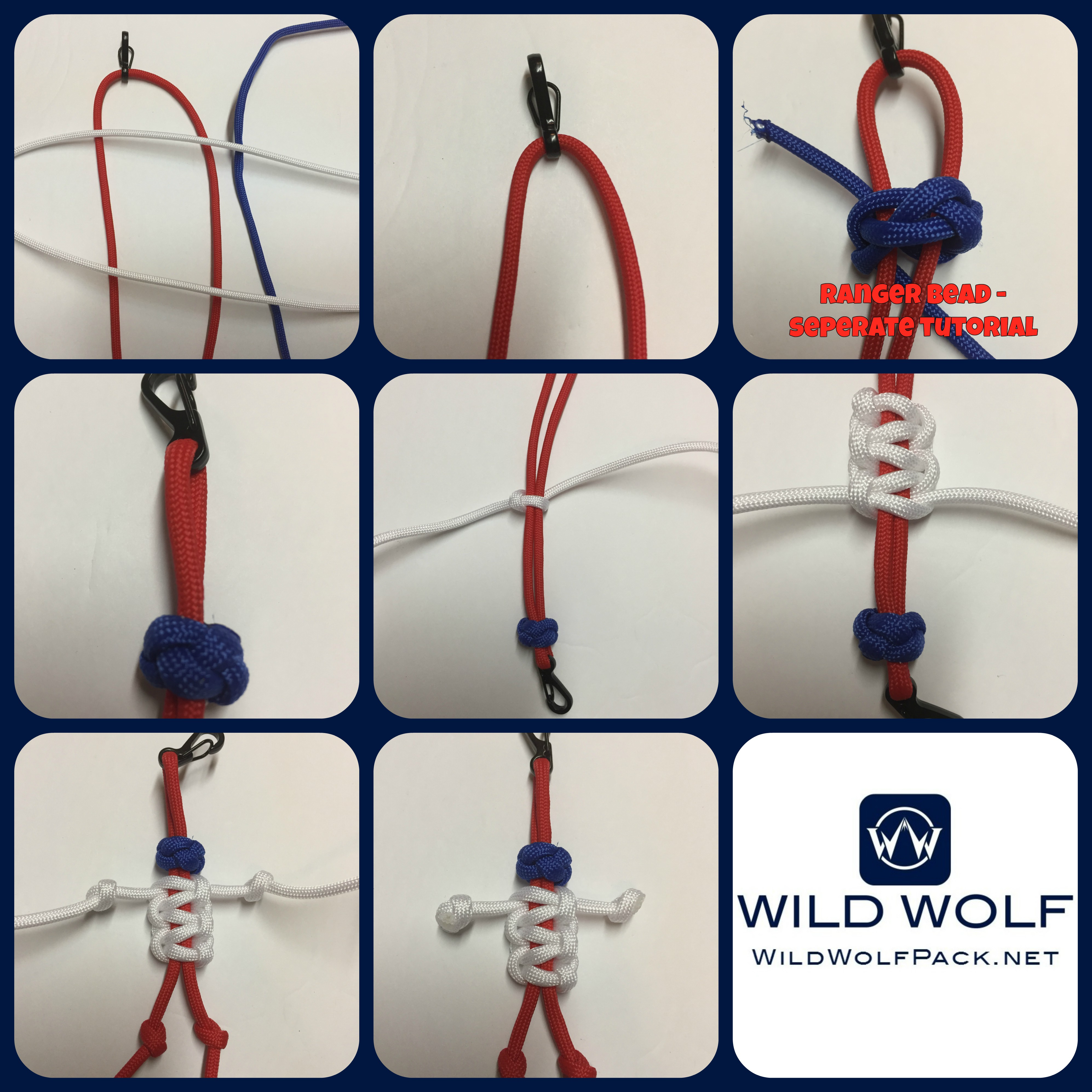 Paracord Buddy Paracord Person Cobra Weave And Ranger Bead